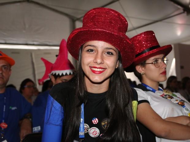 Giovana Melo. de 14 anos (Foto: Thiago Rios Gomes)