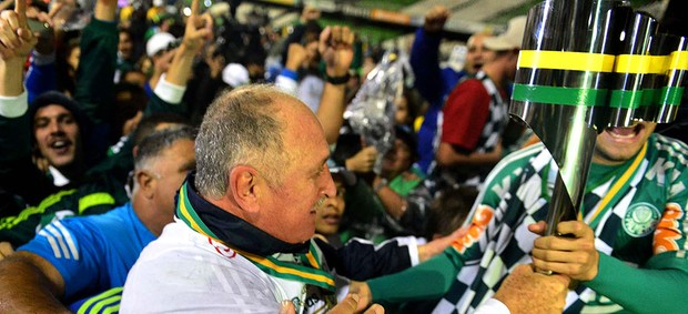 Felipão, Palmeiras, Campeão Copa do Brasil (Foto: Marcos Ribolli / Globoesporte.com)