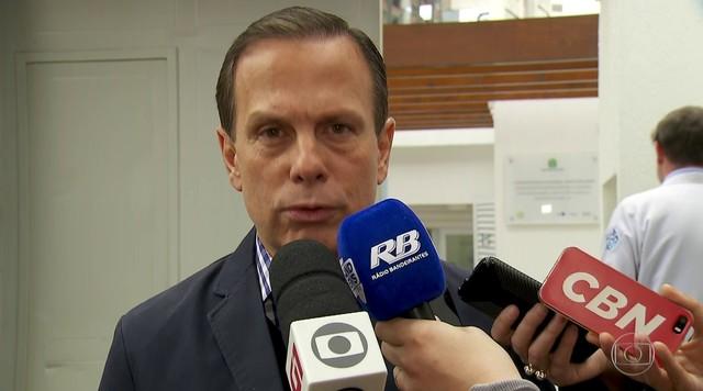João Dória (PSDB) fez campanha na capital nesta terça (11)