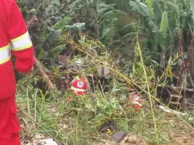 Quatro vítimas tiveram ferimentos leves  (Foto: Thiago Rodrigues/RPC)