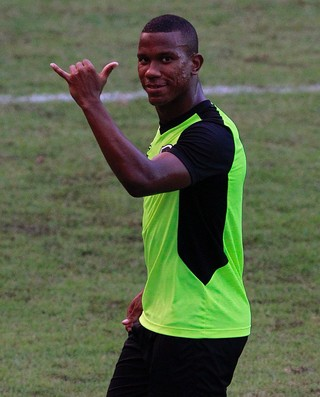 Ribamar durante treino do Botafogo (Foto: Twitter oficial do Botafogo)