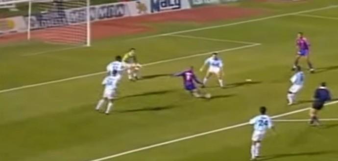 Ronaldo Barcelona Compostela (Foto: Reprodução/YouTube)