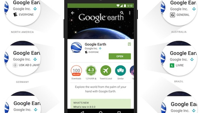Jogos e aplicativos do Google Play agora terão classificação etária (Foto: Reprodução/Engadget)