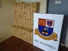 Polícia apreende mais de 400 quilos de maconha no norte do Paraná