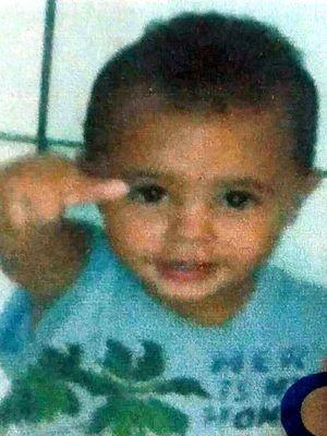 Kaiki tinha dois anos quando foi atropelado durante entrega de balas em rua de Avaré (Foto: Reprodução/Facebook)