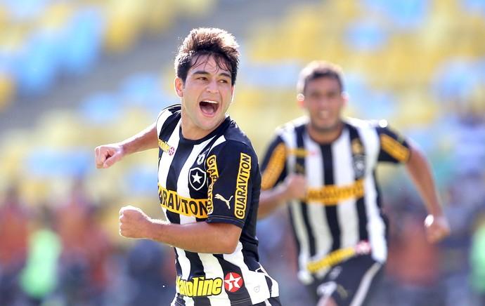 Lodeiro jogo Botafogo contra Criciúma (Foto: Vitor Silva / SS Press)