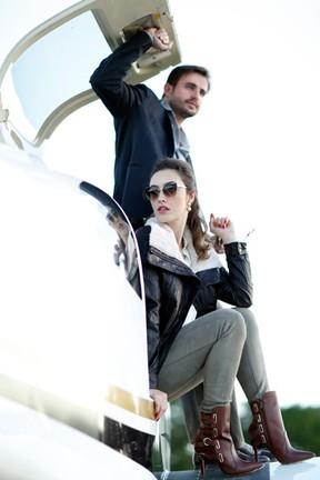 Max Fercondini e Amanda Richter (Foto: Marcos Serra Lima / EGO)