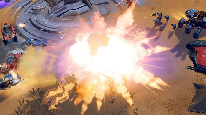 Halo Wars 2 não foi bem otimizado e precisa de patches (Foto: Divulgação/Microsoft)