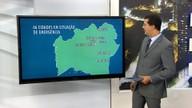 Aumenta para 66 nº de cidades em situação de emergência