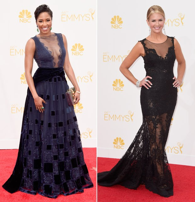 [620] Emmy 2014 Rendas Alicia Quarles e  Nancy O'Del (Foto: Getty Images)