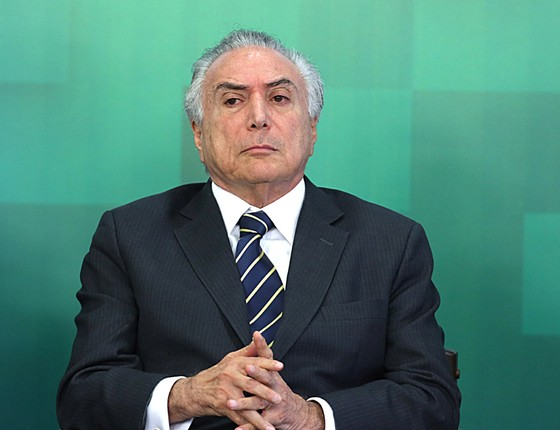 O presidente interino Michel Temer (Foto: Jorge William/Agência O Globo)