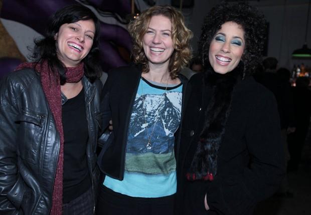 Cláudia Missura, Patrícia Pillar e Márcia Castro (Foto: Leo Franco/AgNews)