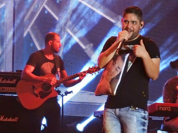 O cantor Jorge da dupla Jorge e Mateus (Foto: Ive Rylo / G1 AM)