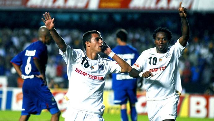 Junior Moraes, Santos 2007 (Foto: GloboEsporte.com)