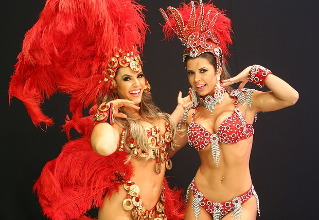 Tania Oliveira e Cacau (Foto: Iwi Onodera/EGO)