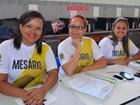Voluntária diz aprende lições de vida (Marina Fontenele/G1)