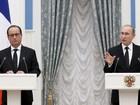 Putin aceita colaborar com França em ações contra Estado Islâmico na Síria