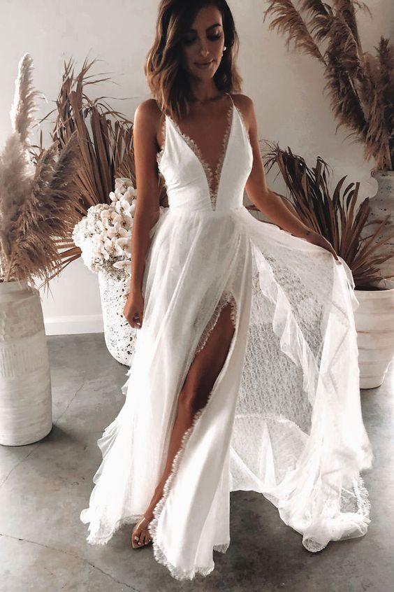 Alugar vestidos de noiva é uma das trends que vêm forte em 2020 (Foto: Reprodução / Pinterest)
