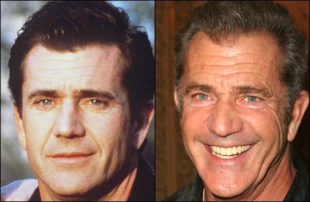Em 2016, Mel Gibson chegará aos 60 anos de idade. Mas os últimos tempos têm sido complicados em termos artísticos para o protagonista de 'Máquina Mortífera' (1987), 'Coração Valente' (1995) e 'O Patriota' (2000). Será que a participação em 'Os Mercenários 3' (2014) deve ajudá-lo a reconquistar o grande público? (Foto: Getty Images)