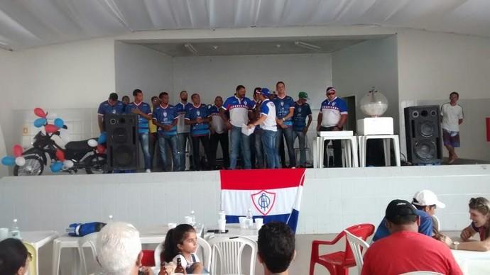 Itabaiana, apresentação (Foto: Genário Santos / AOI)
