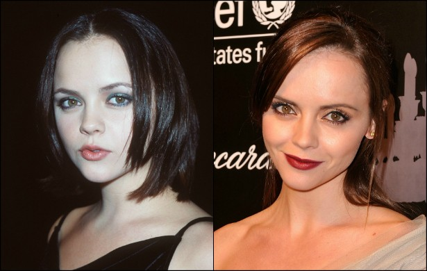 Christina Ricci fez comédias sobrenaturais como 'A Família Addams' (1991) e 'Gasparzinho, o Fantasminha Camarada' (1995). E, fisicamente, ela não mudou tanto de quando tinha 18 aninhos, em 1998, para os dias de hoje, em que tem 34. (Foto: Getty Images)