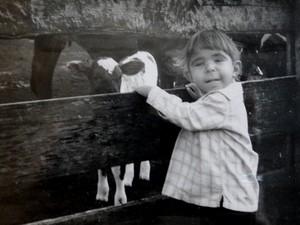 Rick Bastos durante a infância, antes do diagnóstico.  (Foto: Arquivo pessoal/Denize Bastos)