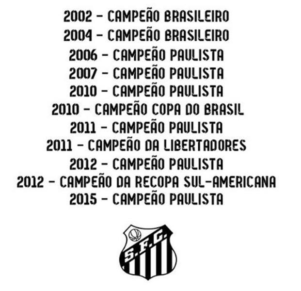 BLOG: Com saudade? Elano exalta os 11 últimos títulos do Santos às vésperas do retorno ao clube