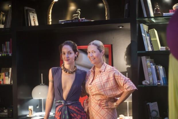Vanda Jacinto e Donata Meirelles para o programa Quero Já! (Foto: Joana Luz)