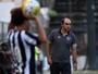"""Ricardo Gomes exalta reação e destaca: """"Bom jogo, mas estranho"""""""