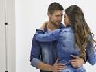 Mari Gonzalez e Jonas Sulzbach beijam muito em campanha