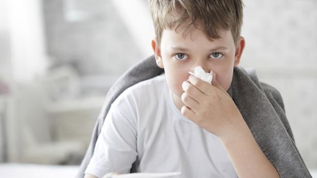 Doenas tpicas do inverno em crianas e bebs (Foto: Getty Images)