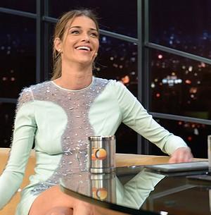 'A carreira de modelo está mais longa', comenta (Ricardo Martins/Programa do Jô)