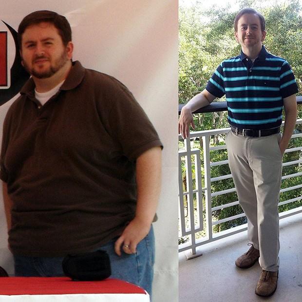 Benji Kurtz em 2006 e em junho deste ano (Foto: Reprodução Facebook)