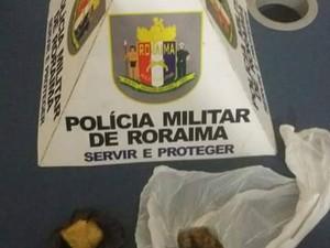 Droga estava na bagagem do menor (Foto: Divulgação/PM)