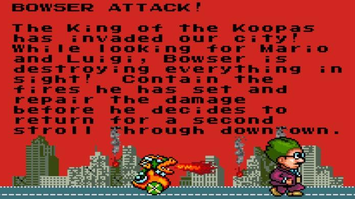 Sim City não trouxe Mario, mas sim seu inimigo Bowser (Foto: Reprodução / Thomas Schulze)
