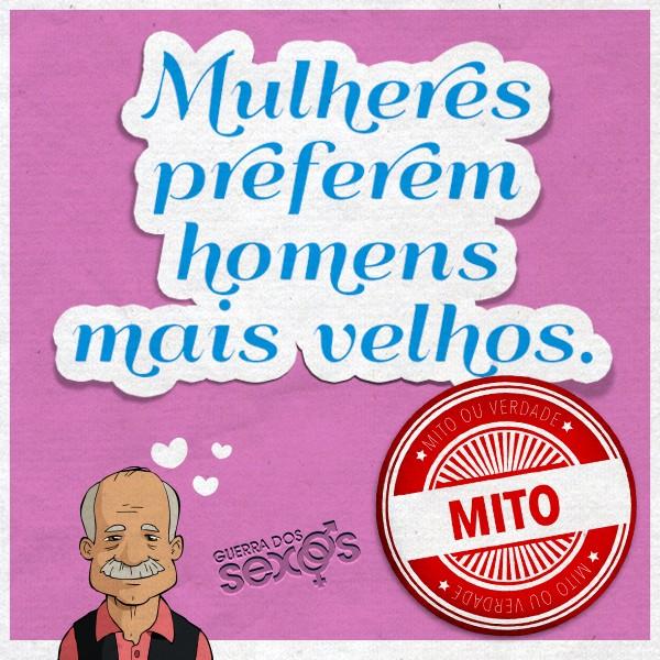 Mulheres preferem homens mais velhos - Mito