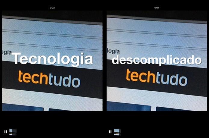 Legendas adicionadas (Foto: Felipe Alencar/TechTudo)