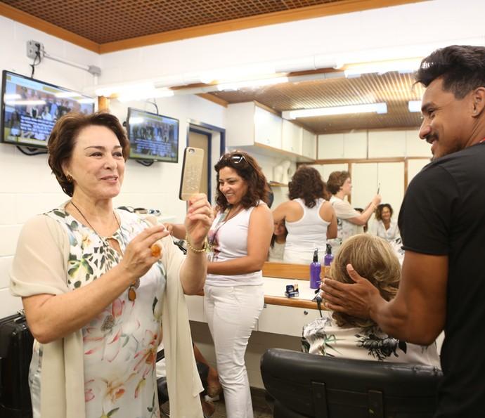 Nívea Maria é só sorrisos  (Foto: Carol Caminha/Gshow )