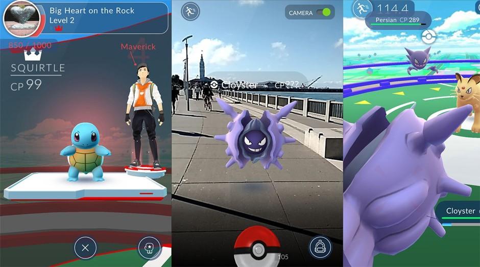 Pokémon Go é um jogo de realidade aumentada, que mistura elementos virtuais à vida real (Foto: Divulgação)