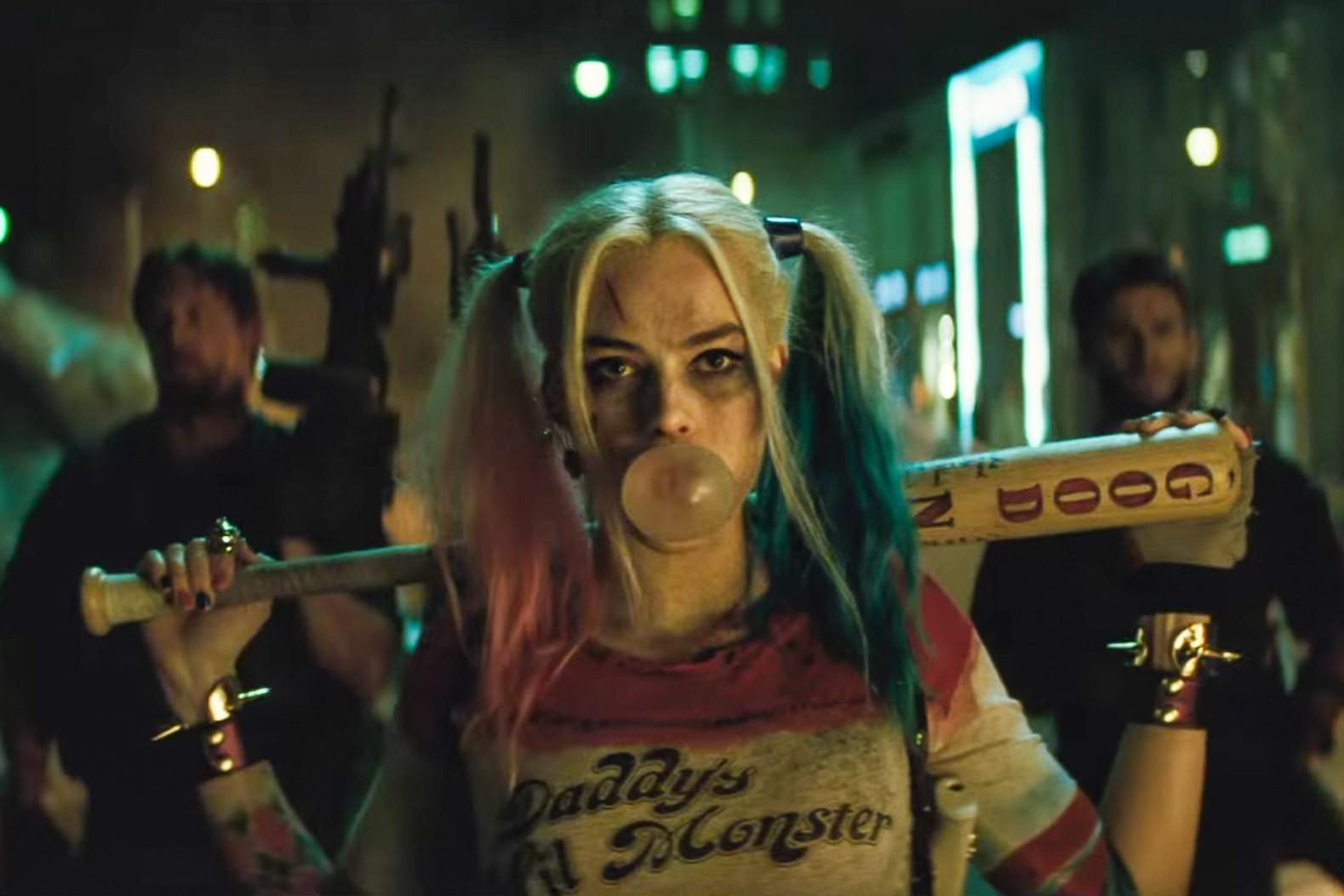 Margot Robbie como Arlequina em 'Esquadrão Suicida' (Foto: Divulgação)