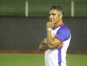 Nilton Nery, técnico do Plácido de Castro-AC (Foto: João Paulo Maia)