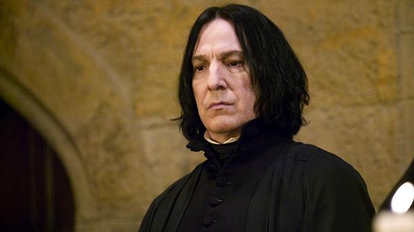 Alan Rickman em 'Harry Potter' (Foto: Divulgação)