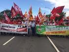 Marcha causa transtornos no trânsito na região central de Porto Alegre