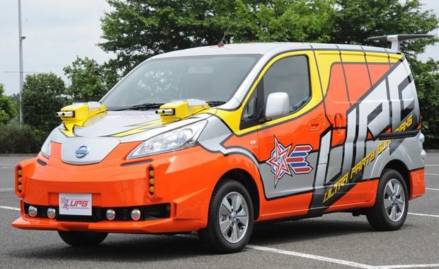 Nissan Leaf será o meio de transporte do novo Ultraman (Foto: Divulgação)