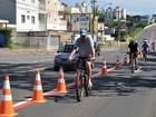 Ciclofaixas em Campinas estão fechadas no fim de semana e feriado