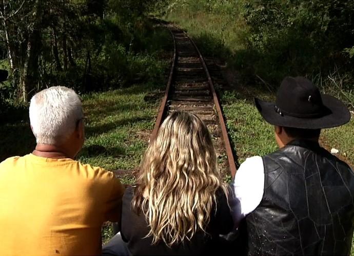 'Plugue' vai fazer um passeio pelos trilhos da região (Foto: Plugue)