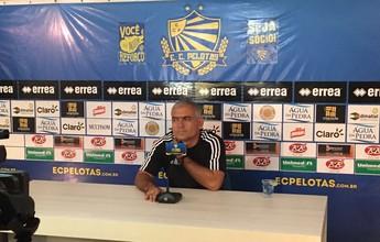 Invicto na Segundona, técnico Fabiano Daitx pede demissão do Pelotas