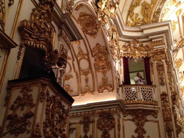 Igreja do Casamento da Preta Gil e Rodrigo Godoy (Foto: Ego)