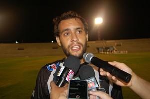 Conrado, atacante do Treze (Foto: Silas Batista / GloboEsporte.com)