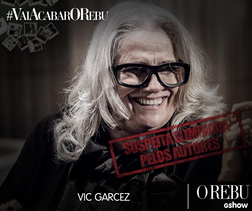 Suspeitos Vic (Foto: O Rebu/Tv Globo)